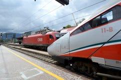 Bolzano stacja kolejowa Zdjęcie Royalty Free