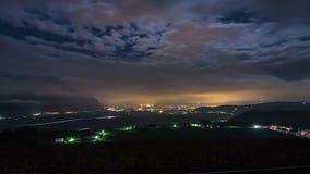 Bolzano time lapse stock footage