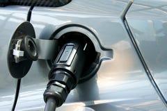 Bolzen des elektrischen Autos Stockfoto