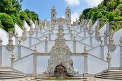 Bom耶稣做Monte,拉格,葡萄牙 免版税图库摄影
