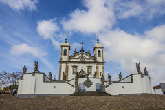 Bom Ιησούς de Matosinhos Shrine - Congonhas - Βραζιλία Στοκ Εικόνες