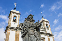 Bom Ιησούς de Matosinhos Shrine - Congonhas - Βραζιλία Στοκ Φωτογραφίες
