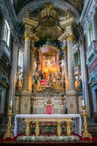 Bom Ιησούς do Monte Church εσωτερικό στοκ φωτογραφίες