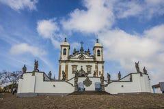 Bom Иисус de Matosinhos Святыня - Congonhas - Бразилия Стоковое Фото