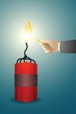 Bom royalty-vrije illustratie