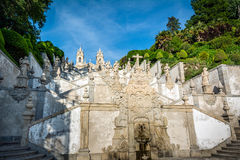 bom Braga church do Ιησούς monte Πορτογαλία στοκ εικόνες