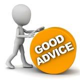 Bom conselho Imagens de Stock Royalty Free