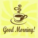 Bom dia! Imagens de Stock Royalty Free