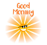 Bom dia Imagem de Stock