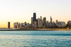 Bom dia Chicago! Foto de Stock