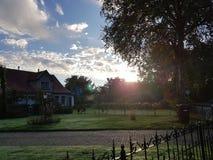Bom dia do nascer do sol Foto de Stock
