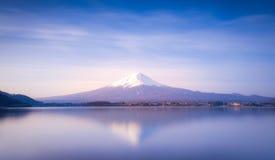 Bom dia Fuji imagens de stock