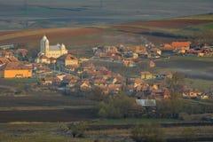 bom dia a Transilvânia Fotografia de Stock