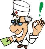 Bom doutor ilustração royalty free