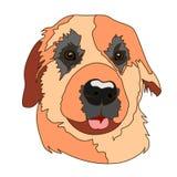 Bom filhote de cachorro ilustração stock