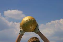 Bom goalie Imagem de Stock Royalty Free