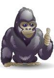 Bom gorila Foto de Stock