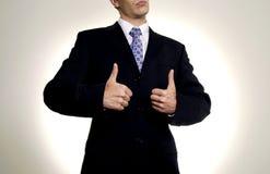 Bom homem de negócios Foto de Stock Royalty Free