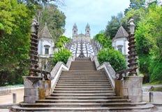 Bom Jesús Escadaria Imagenes de archivo