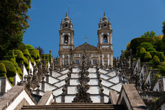 Bom Jesus. In Braga (Portugal Stock Photos