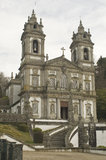 Bom Jesus in Braga. The santuary of Bom Jesus in the city of Braga, Portugal Stock Images