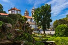 Bom Jesus church in Braga - Portugal stock image
