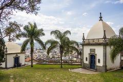 Bom Jesus de Matosinhos Shrine - Congonhas - Brazil Royalty Free Stock Photography