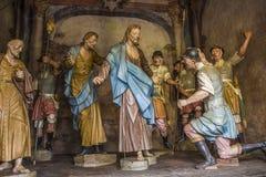 Bom Jesus de Matosinhos Shrine - Congonhas - Brazil Stock Images