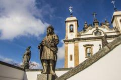 Bom Jesus de Matosinhos Shrine - Congonhas - el Brasil imagen de archivo libre de regalías