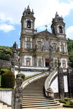 Bom Jesus do Monte. In Braga, Portugal stock photos