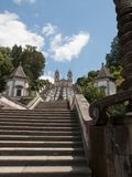 Bom Jesus do Monte Stock Photo