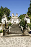 Bom Jesus do Monte, Braga. Bom Jesus do Monte church, famous landmark of Braga, Portugal Stock Image