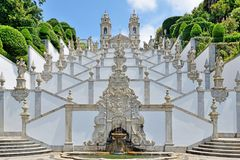Bom Jesus Do Monte, Braga, Portugal royalty-vrije stock fotografie