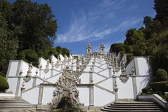 Bom Jesus do Monte. In Braga, Portugal Royalty Free Stock Photo