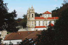 Bom-Jesus Do Monte. Braga, Portugal. stock images