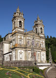 Bom Jesus do Monte Church, Braga Royalty Free Stock Photos