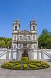 Bom jesus do Monte church in Braga Stock Photos