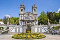 Bom jesus do Monte church in Braga Stock Image