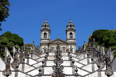 Bom Jesus do Monte Stock Images