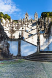Bom Jesus do Monte Monastery, Braga, Portugal. Royalty Free Stock Images