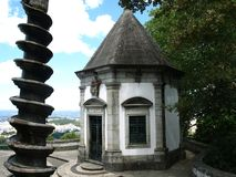 Bom Jesus do Monte-Portugal Stock Photo