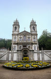 Bom Jesus do Monte. Is a Portuguese sanctuary in Tenões, outside the city of Braga, in northern Portugal. Its name means Good Jesus of the Mount Stock Images