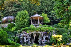 Park of Bom Jesus do Monte sanctuary stock photography