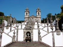 Bom Jesus do Monte sanctuary royalty free stock photo