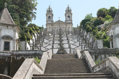 Bom Jesus do Monte sanctuary, Braga, Portugal Royalty Free Stock Image