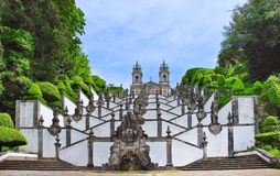 Bom Jesus Escadaria Stock Photography