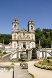 Bom Jesus gör Monte, Braga royaltyfri foto