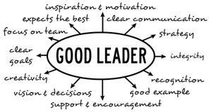 Bom líder ilustração royalty free
