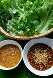 Bom teste do alimento tailandês foto de stock
