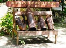 Bom in Wereldoorlog II Stock Foto